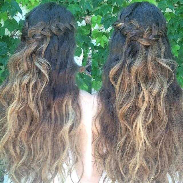 wedding or prom style hair