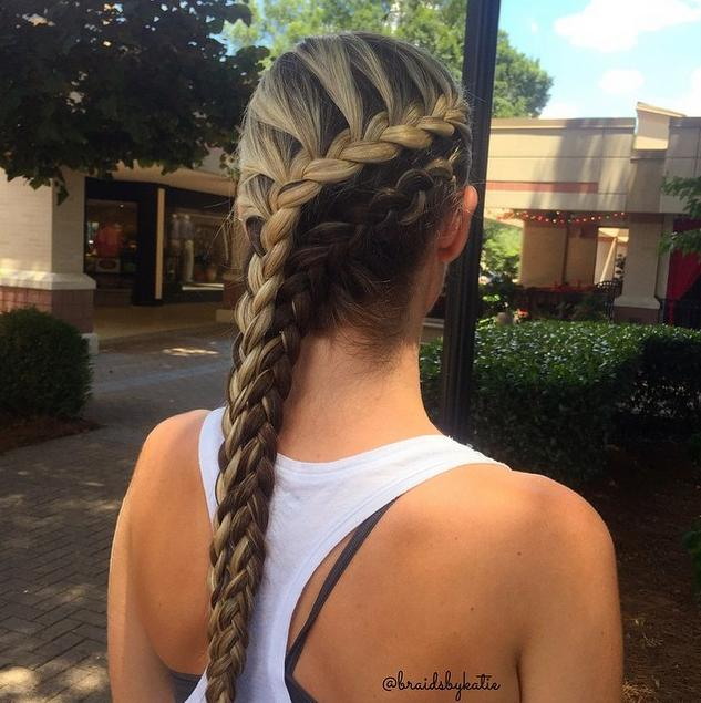 Marvelous Double Side Braid Hairstyles For Women Draintrainus