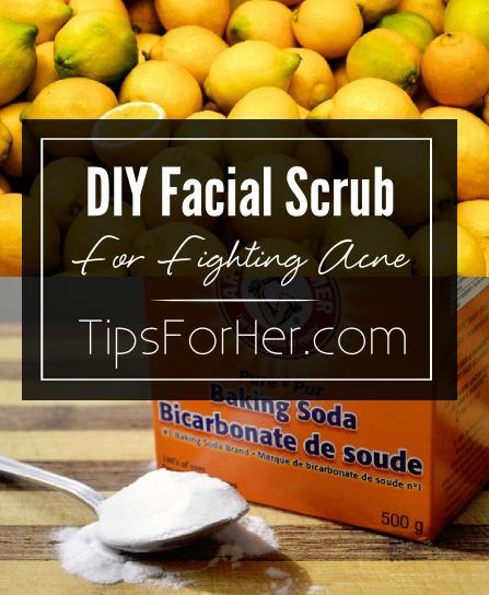 DIY Facial Scrub for Fighting Acne