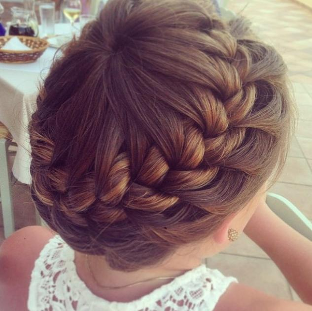 Starburst crown braid