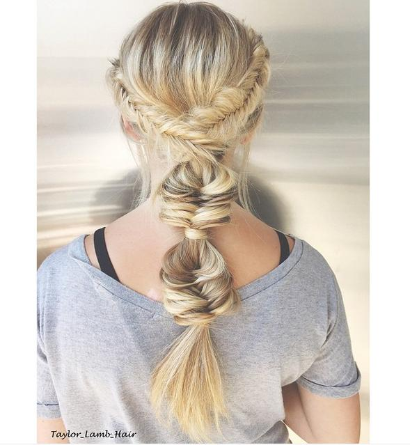 bubble fishtail