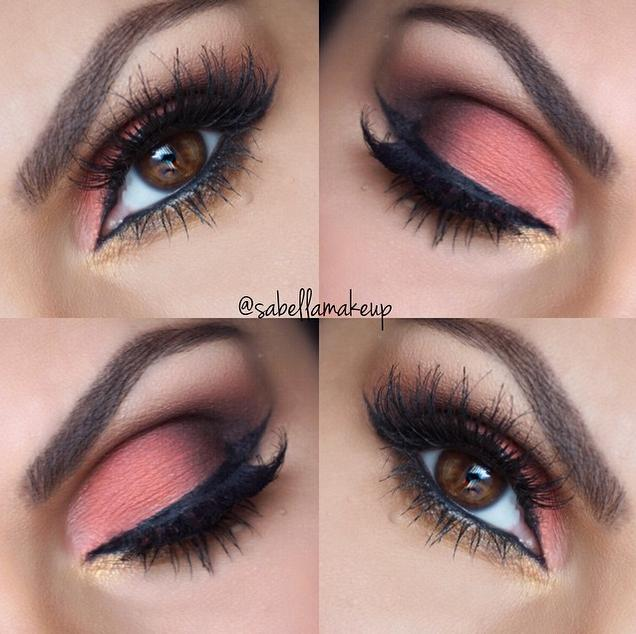 pink smokey look #dressyourface
