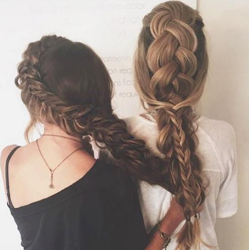 sister braids