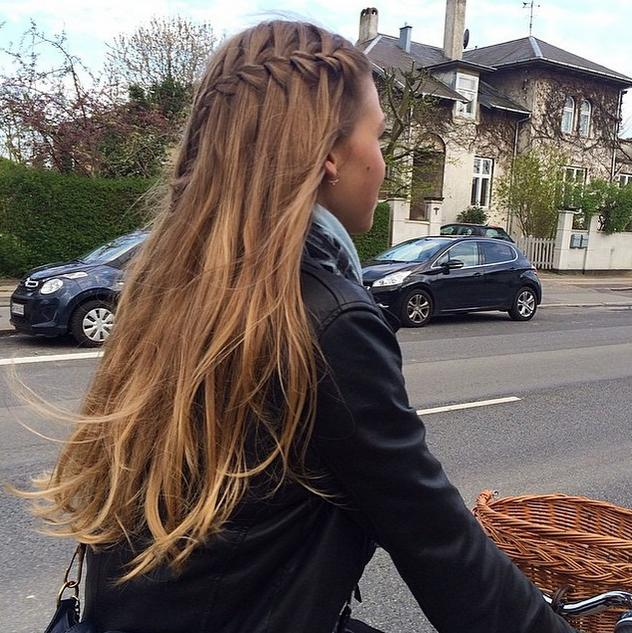 waterfall braid hairandnailsinspiration