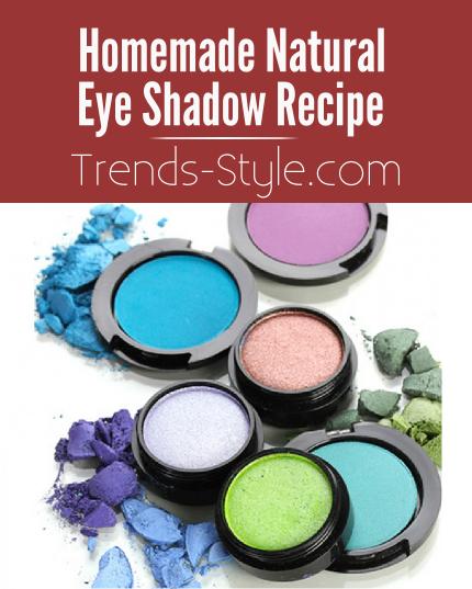 Homemade Natural Eyeshadow
