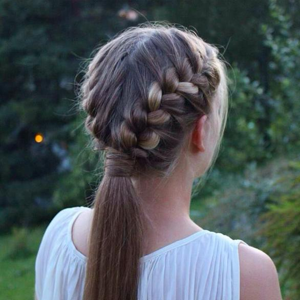 3 Festive Braided Hairstyles