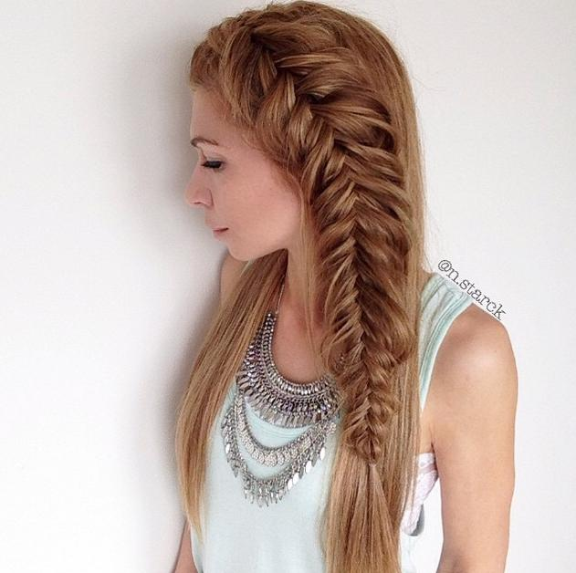 dutch fishtail braid n.starck