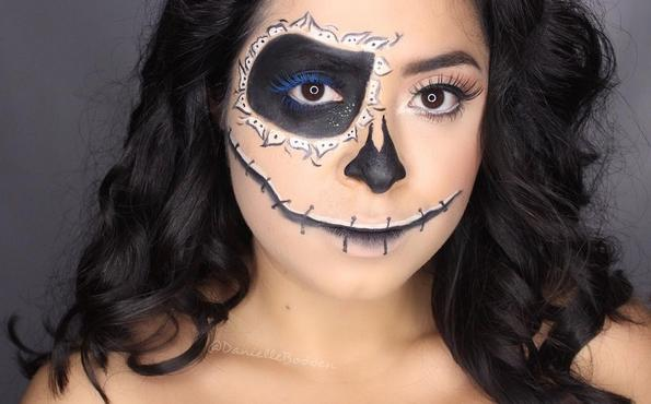halloween contest makeup