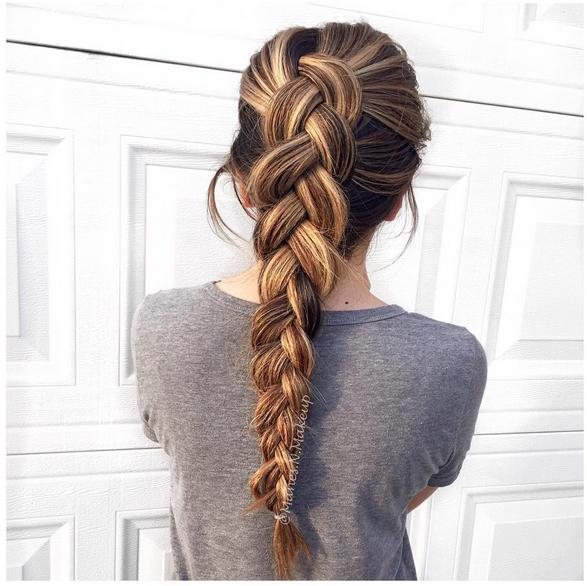 simple pretty braids