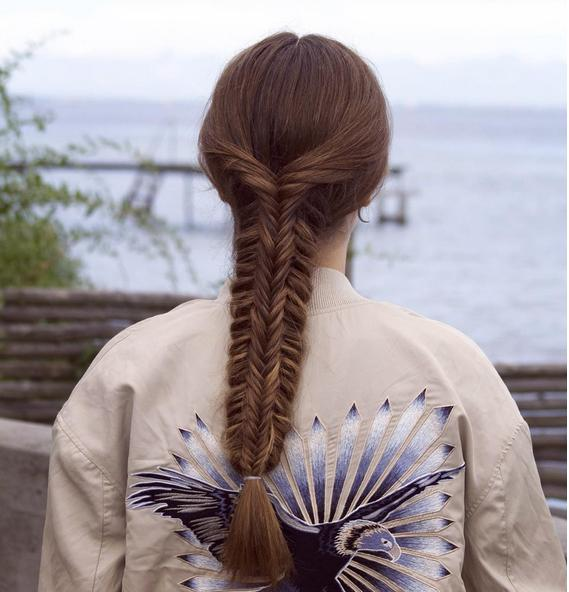 split fishtail