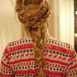holiday inspired braid