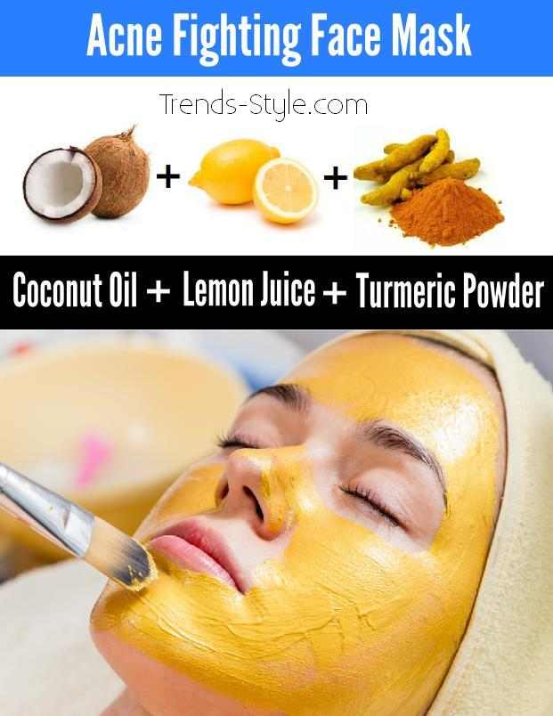 Acne Fighting Face Mask
