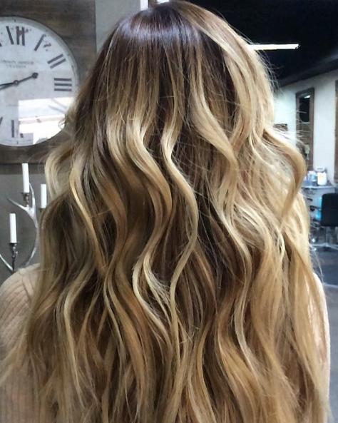 root drop blonding cut