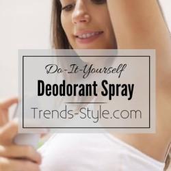 Do-It-Yourself Homemade Deodorant Spray