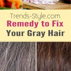 Remedy to Fix Your Gray Hair