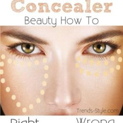 Right & Wrong Way to Applying Concealer