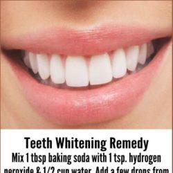 Teeth Whitening Remedy