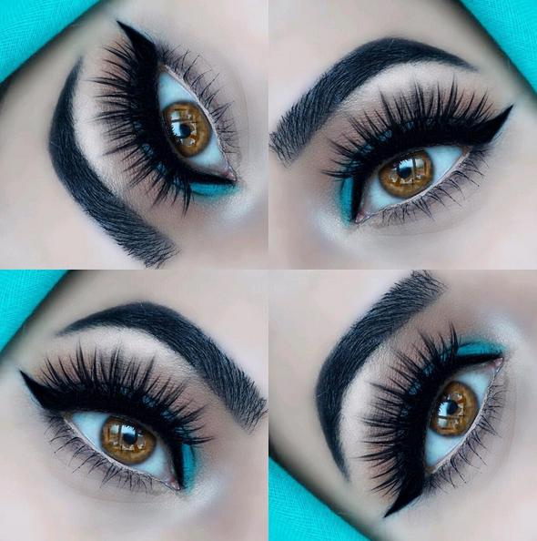 gorgeous #eotd wearing MotivesLBD Gel Liner