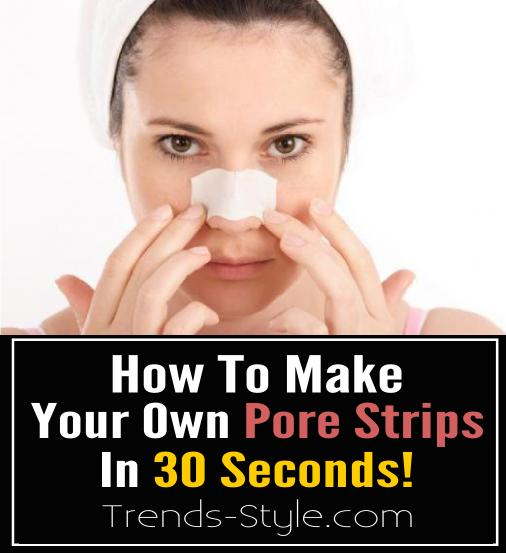 How To Make Your Own Pore Strips!